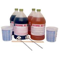 Secure Set Concrete Alternative Post Setting Foam White 20 Post Kit 4 Gal. Kit