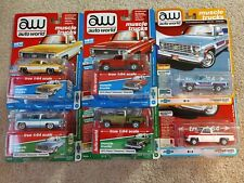 Auto World Trucks Lot Of 6 Diecast 1:64 Scale