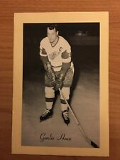 1944/64 BEEHIVE SYRUP GROUP 2 HOCKEY PHOTO GORDIE HOWE NICE SHARP!! BEE HIVE