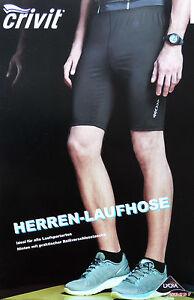 Herren Laufhose Funktionshose Schwarz Kurz Jogging Hose M L XL Sporthose TOP NEU