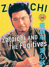 Zatoichi #18: Zatoichi and the Fugitives (DVD, 2004) #2-052