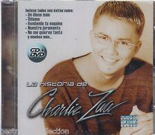 La Historia De Charlie Zaa CD NEW + 1 DVD Edicion Especial RARE Nuevo SEALED