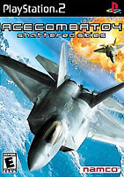 Ace Combat 04: Shattered Skies Greatest Hits (Sony PlayStation 2, 2001) CIB PS2