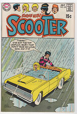 DC  SWING WITH SCOOTER  #28  1970  BRONZE AGE TEEN HUMOR