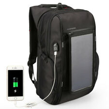 15.6 Inch Outdoor Backpack Laptop Bags with Removable Front Solar Charing Panels