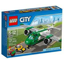 60101 AIRPORT CARGO PLANE lego SET legos city town SEALED NEW airplane