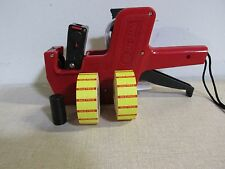 """New Mx-5500 Date/ Price, Labeler + 2,000 Preprinted """"Yellow.Sale/Price&# 034; Labels"""