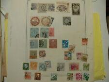 JAPON lot de 35 timbres anciens, départ à PETIT PRIX