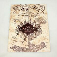 Harry Potter The Marauder's Map Hogwarts School of Witchcraft & Wizardry *New*