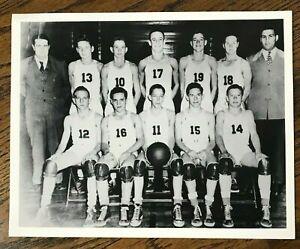 Mickey Mantle #14 High School Basketball Team Reprint Photo Commerce, Oklahoma