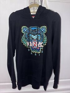 Kenzo Size Small Womens Black Hoodie Worn Once Excellent Condition - Paid £199
