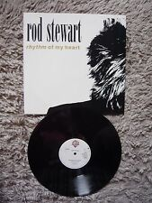 "Rod Stewart Rhythm Of My Heart UK 1991 Warner Bros 12"" Vinyl Single EXC"