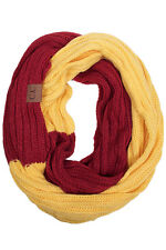 ScarvesMe C.C Spirit College High School Team Game Day Infinity Knit Scarf