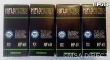 Husqvarna TC449/TE449/TE511 (2011 a 2014) HIFLOFILTRO FILTRO DE ACEITE HF611 x 4