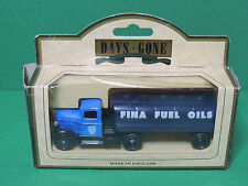 """Lledo 1935 Ford Articulated Tanker """"Fina Petrol"""" Promotional diecast Days-Gone"""