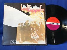 LED ZEPPELIN II LP ORIGINAL RED PLUM LABEL UK EXC+