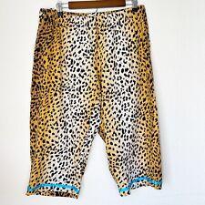 Torrid Animal Print Cropped Pajama Pants