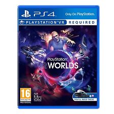 VR PlayStation Worlds Ps4 4 Sony PSVR BRAND Game Only 2016 Japan