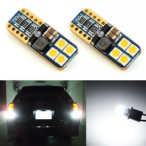 JDM ASTAR 2x 921 912 T10 T15 3030 SMD LED 6000K White Backup Reverse Lights Bulb