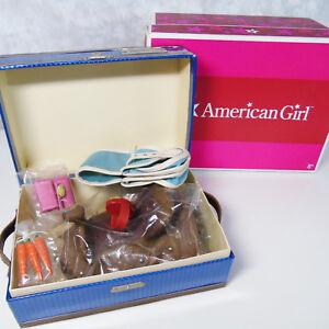 NEW American Girl Doll Nikki Nicki's Horse JACKSON TACK BOX Saddle Bag Brush BOX
