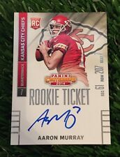 AARON MURRAY 2014 NFL Contenders Rookie Ticket RC AUTO