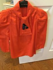 3.1 PHILIP LIM BLOUSE- SIZE 0-ORANGE
