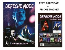 DEPECHE MODE CALENDAR 2020 BY DREAM + DEPECHE MODE FRIDGE MAGNET