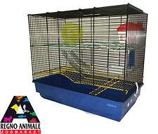 GABBIA PER CRICETI E PICCOLI RODITORI 60x33xh50cm cage for hamster