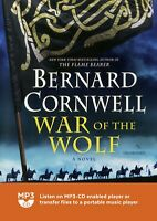 War of the Wolf (Saxon Tales): by Bernard Cornwell - MP3CD - Audiobook