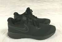 Nike Boys Star Runner 2 (GS) Sneaker, Black/Anthracite-Black-Volt, 4Y Youth US