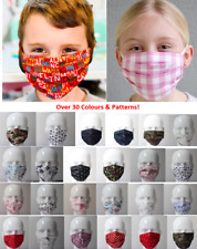Face Mask Reusable Washable Mouth Cotton Cover double layer non medical Children