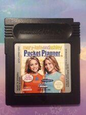 Mary-Kate et Ashley Pocket Planner Nintendo GameBoy Color Cartouche de jeu 2001