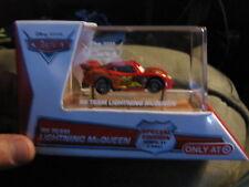 Disney Pixar Cars  RS TEAM Lightning McQueen  W/ display case target exclusive