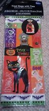 New Wilton Halloween Fall Party Loot Treat Bag Sacks 20ct with ties 1912-9414