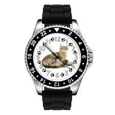 LaPerm Cat Paw Unisex Mens Ladies Jelly Silicone Strap Quartz Wrist Watch Se142