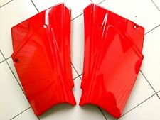 HONDA 1985 XL125S XL185 S SIDE COVER PANEL  L/R RED COLOR NEW 336A1-KB1-870