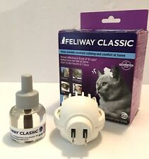 Feliway Starter Kit, Diffuser with 48 ml Refill Exp 3/21 Comfort For Your Cat.