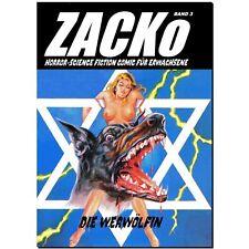 Chacó 3 la werwölfin horror fumetti neri erotismo zocko están agotadas mercancía nueva