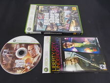 Xbox 360 PaL Game GRAND THEFT AUTO EPISODES FROM LIBERTY CITY with Box Instructi