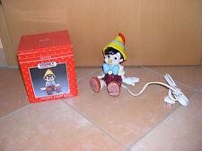 Pinocchio,Walt Disney, Nachttischlampe der Fa. Schmid, Keramik/Porzellan nagelne