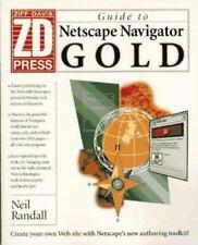 PC Magazine Netscape Navigator 2.0 Gold by Ziff-Davis Press Staff (1996,...