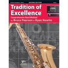 Tradition Of Excellence-Tenor Saxophone Music Book/Internet Level 1-Sax-New Sale