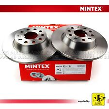 New Seat Leon 1P1 2.0 TDI 16V Genuine Mintex Rear Coated Brake Discs Pair x2