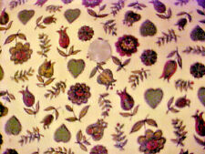 New listing Hearts and Flowers Design 42 Inch Corduroy Fabric - 2 1/4 yds