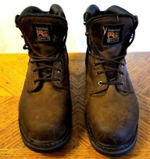 Timberland Pro Steel Toe 33034 Hiking Brown Field Gear Mens Boots 10 W