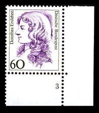 BUND Frauen   60 Pf** postfrisch, Mi. 1332, Eckrand u.r. Formnummer 3