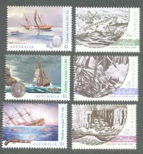 Australia-Shipwrecks-207 & 2017 mnh 2 sets -Ships