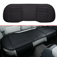 Universal Rear Back Car Seat Cover Protector PU Leather Mat Chair Cushion Pad