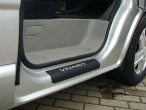 Vauxhall Vivaro Door Step / Sill Protector Vinyl - Vivaro 2003 - 2018