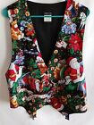 Vintage Robyn-Lyn Christmas vest *great for ugly sweater party!* Size L